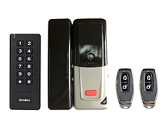 D2-Wireless Lock Kit for Glass Door